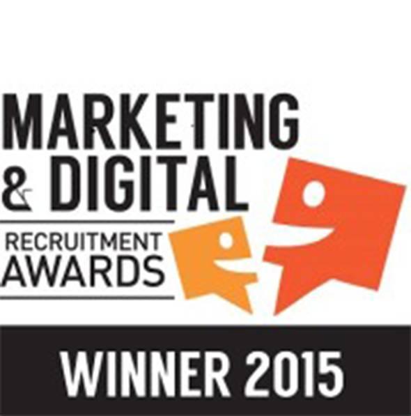 Marketing and Digital Recruitment Award Win