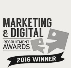 Marketing and Digital Recruitment Awards Winner 2016