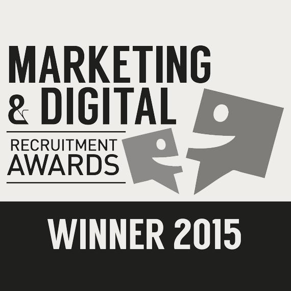 Marketing and Digital Recruitment Awards Winner 2015