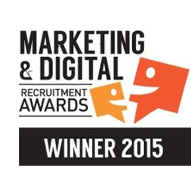 Marketing and Digital Recruitment Award Win